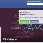 facebook allndance - site internet